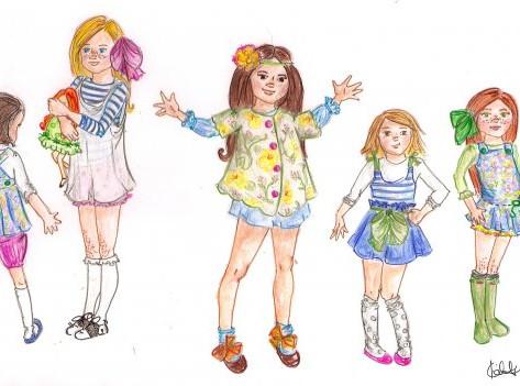 Group of Girls III