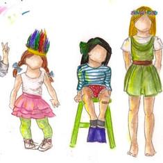 Group of Girls II