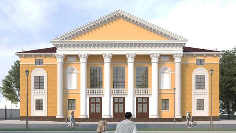 Реконструкция концертно-театрального объединения города Сибай