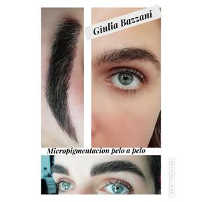 ceja pelo a pelo eyebrow micropigmentati