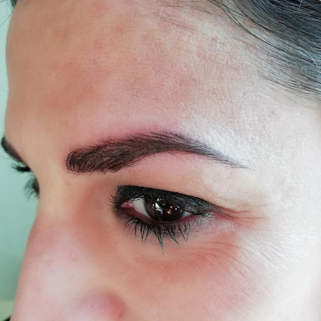 cejas pelo a pelo eyebrows micropigmenta