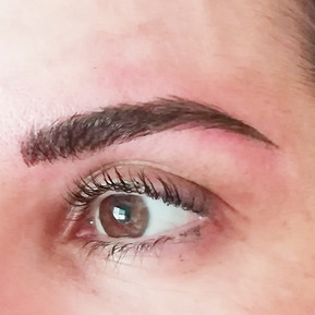 cejas pelo a pelo eyebrow micropigmentat