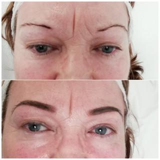 powder brows- pmu powder brows