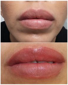 pmu aqua lips-  lips micropigmentation