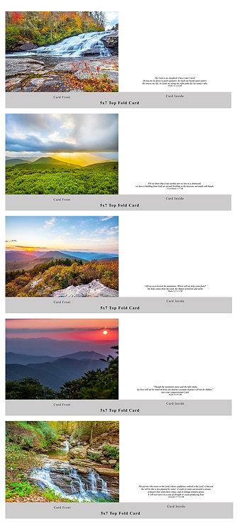"""""""Landscapes"""" Card Set"""