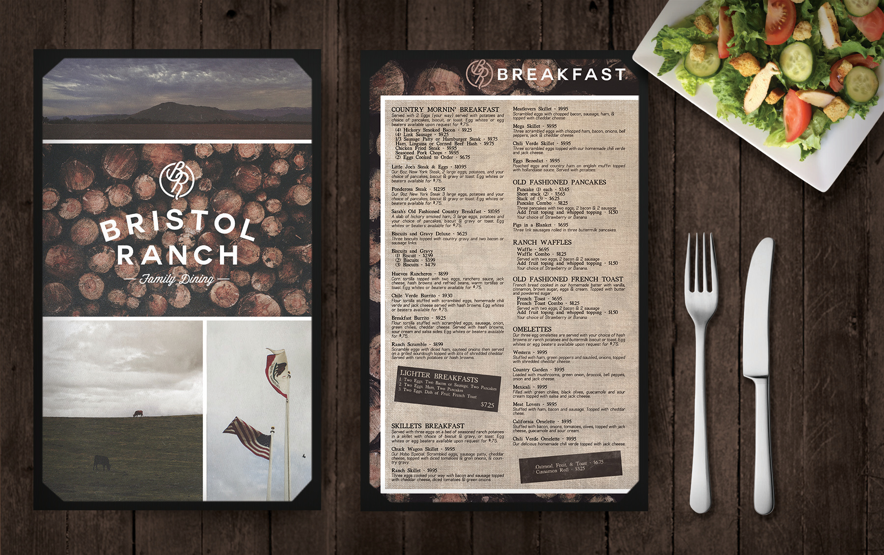 Menu & Logo | Bristol Ranch