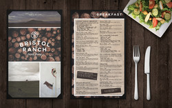 Menu & Logo | Bristol Ranch