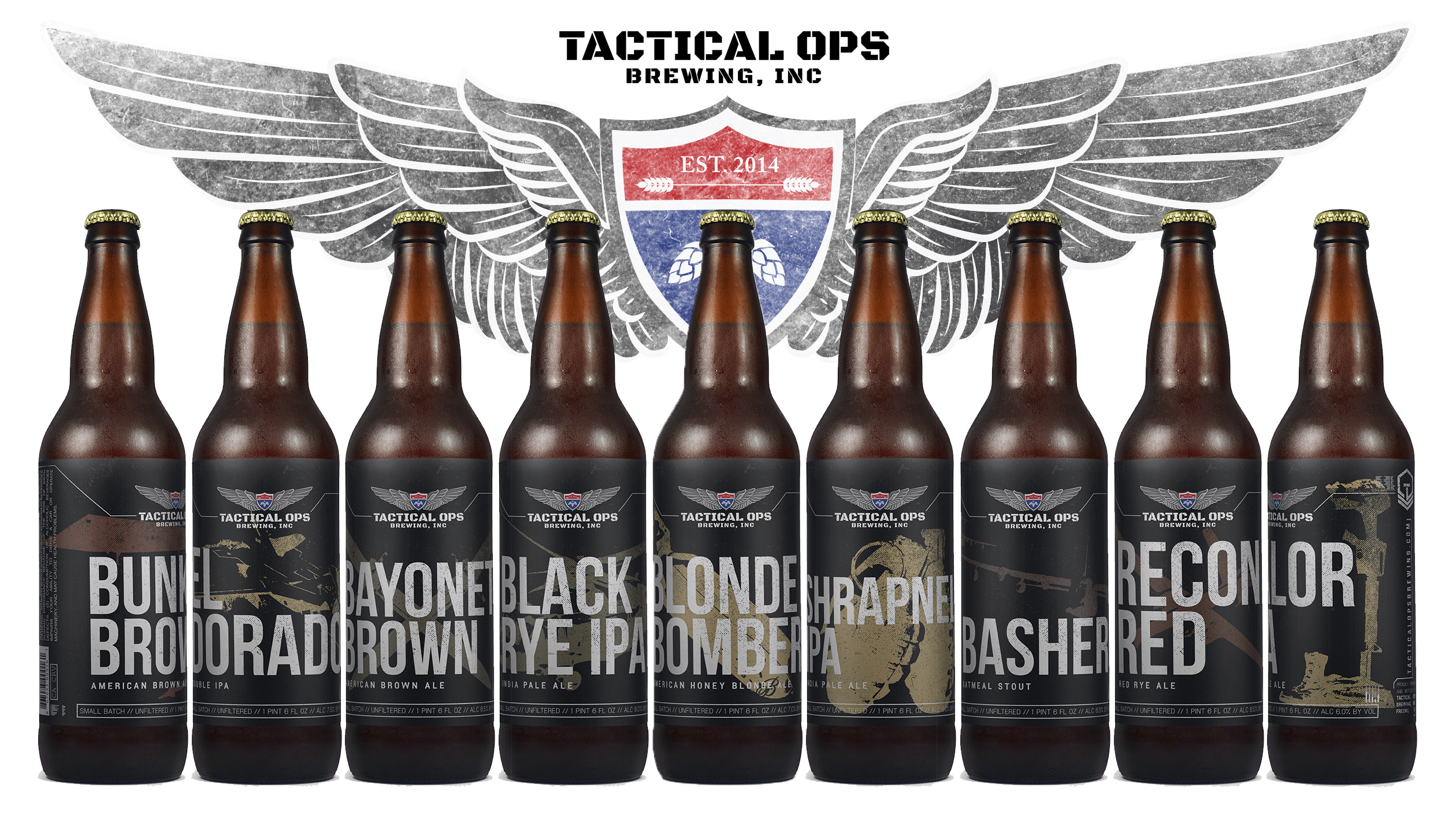 Beer Labels | Tactical Ops Brewing