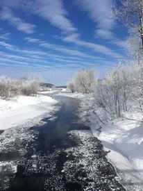 Quebec sled trip