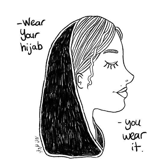 You wear it.