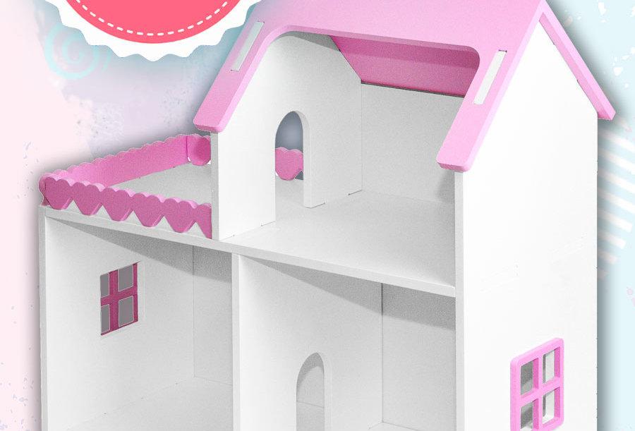 """Кукольный домик """"Мини"""" с балконом"""