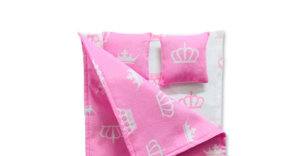 Постельное бельё для кроватки Барби