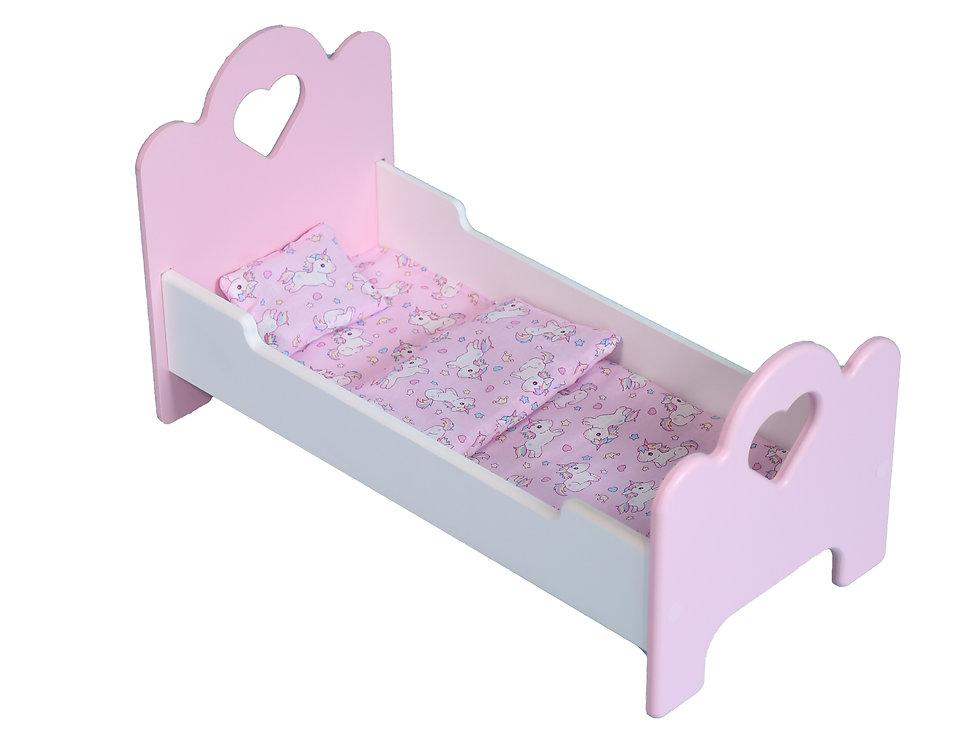 Кроватка для кукол 53см
