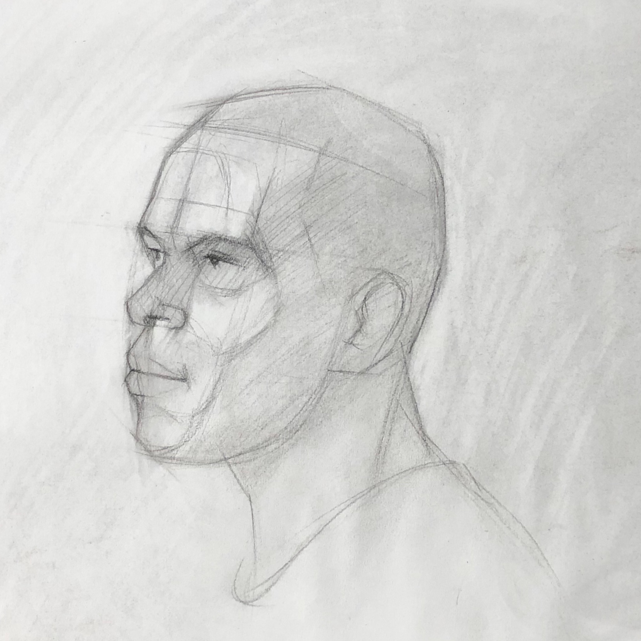 Friday Head Drawing Classes