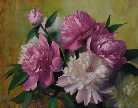 Peony Bouquet (unframed)