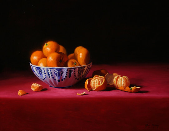 Delft and Tangerines