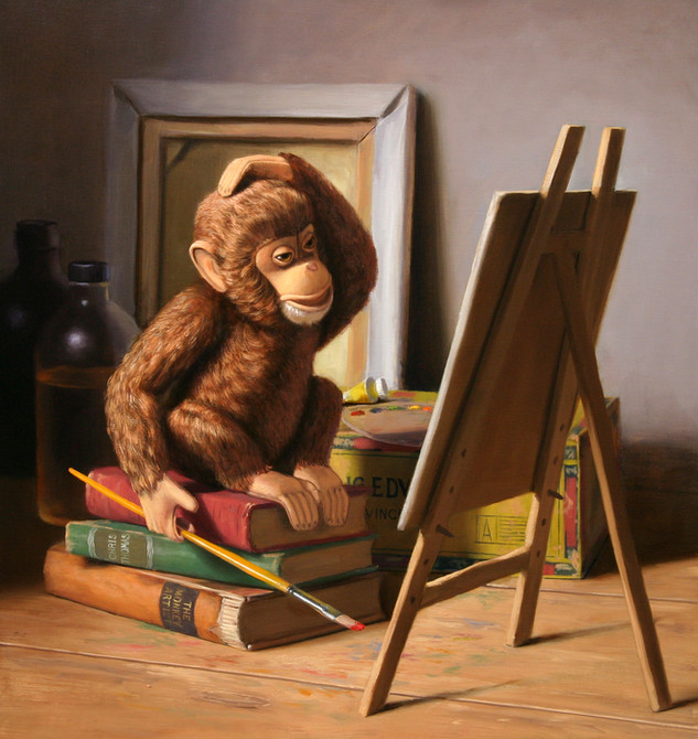 Monkey Artist