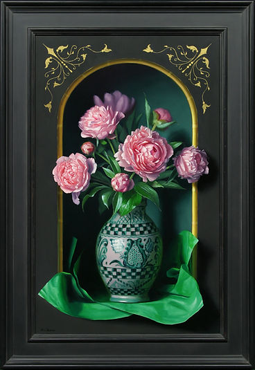 Pink Peonies with Green.jpg