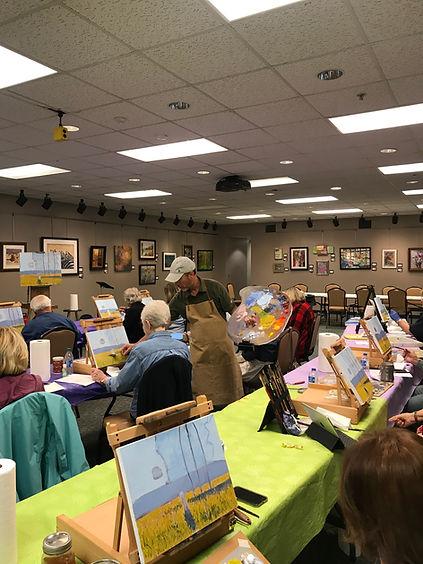 Monet Art Workshop