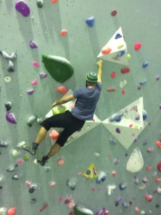 Klettern ist Bewegung