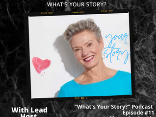 What's Your Story Podcast - Episode 11 - Maura Joy Lustig