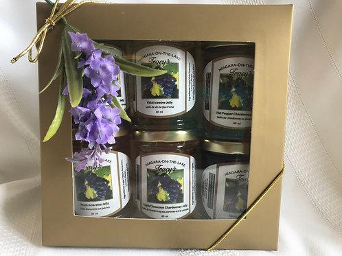 Gift Set - 5 Wine Jellies & 1 Vidal Icewine Jelly