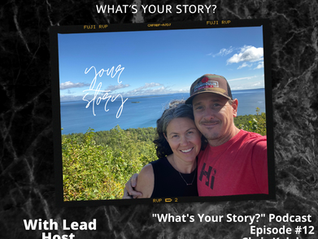 What's Your Story Podcast: Episode #12 - Chris Keleher