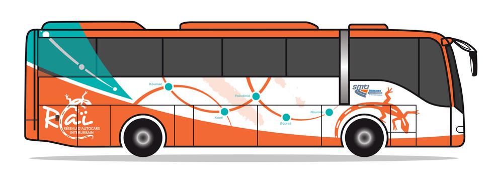 Habillage bus Raï