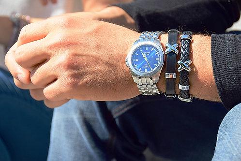 CAPTAIN Leather Bracelet