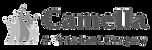 Camella Vista Land Black and White Logo
