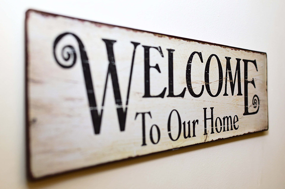Welcome home picture of Advento Builders
