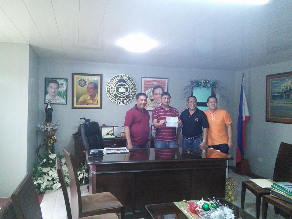 Mayor Boy Cruz with Architect Hernando Advento