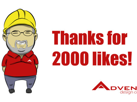 Thanks for the 2000 likes in our Facebook page.