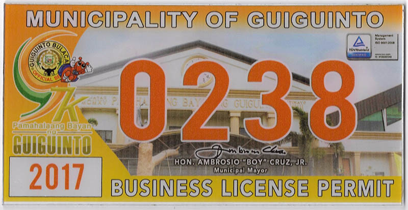 Advento Builders' Mayor Permit