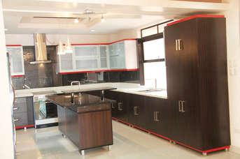 Cruz's Modern Orange and Wenge Kitchen Design