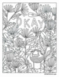 Jenna Freimuth Okay Monster Coloring Book Page