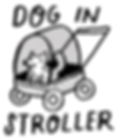 Freimuth Dog in stroller