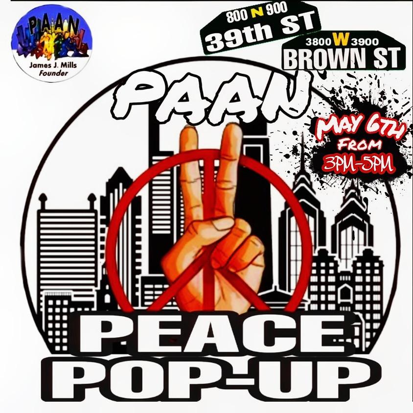PAAN Peace Pop-Up