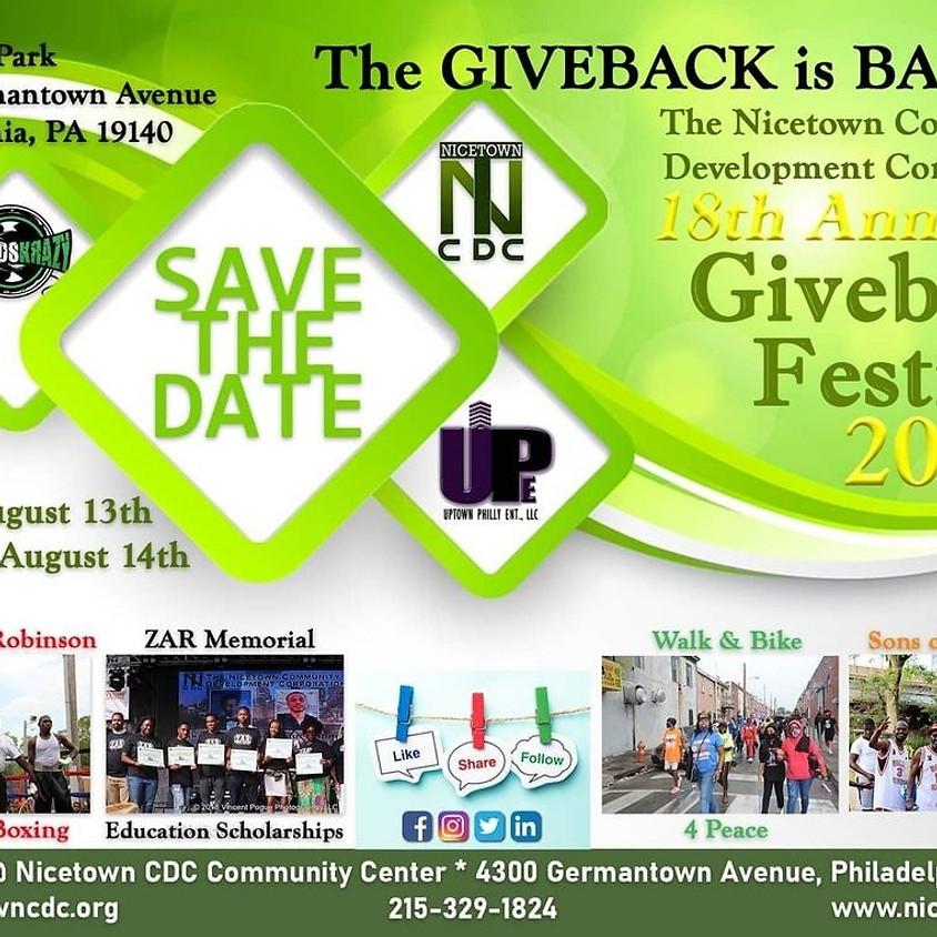 18th Annual Giveback Festival