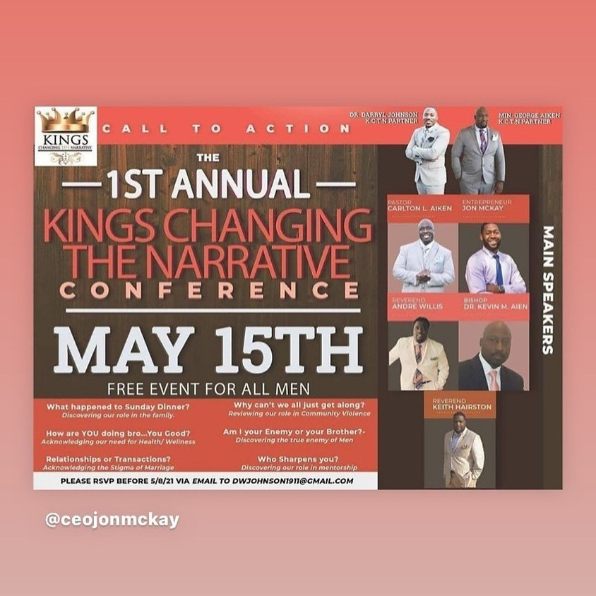 Kings Changing the Narrative Conference