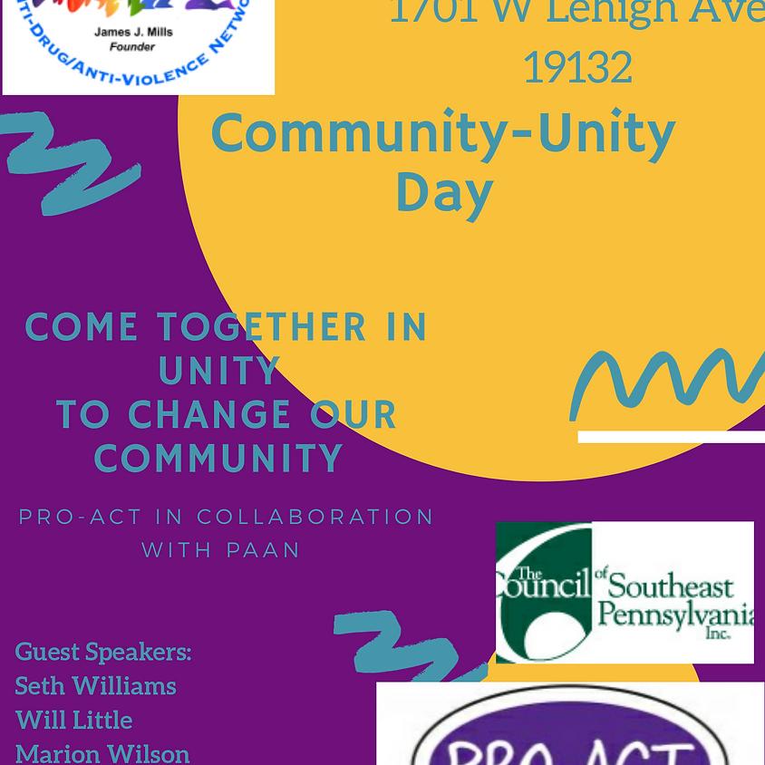 COMMUNITY-UNITY DAY
