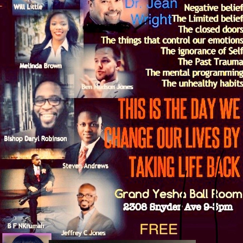 Take Back Your Life Conference!!!