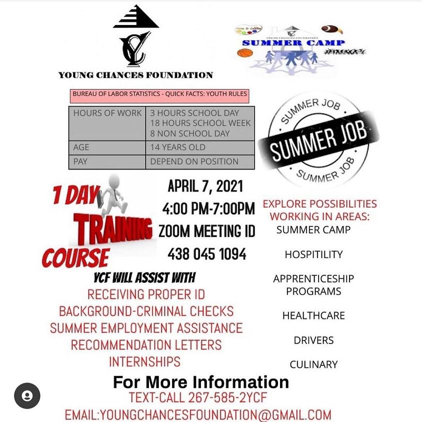 Summer Job Training Course