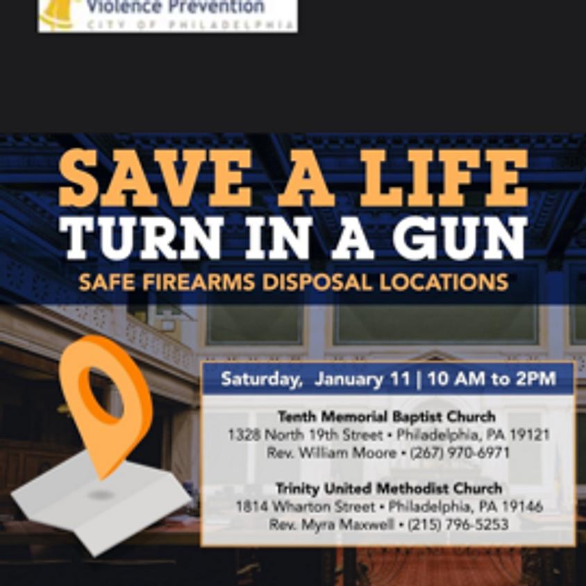 Save A Life Turn In A Gun