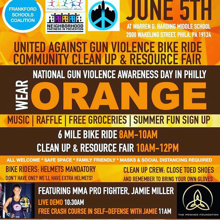 National Gun Violence Awareness Day Bike ride
