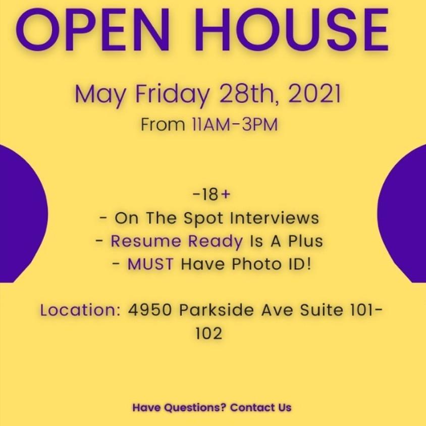 Open House/ Hiring Event