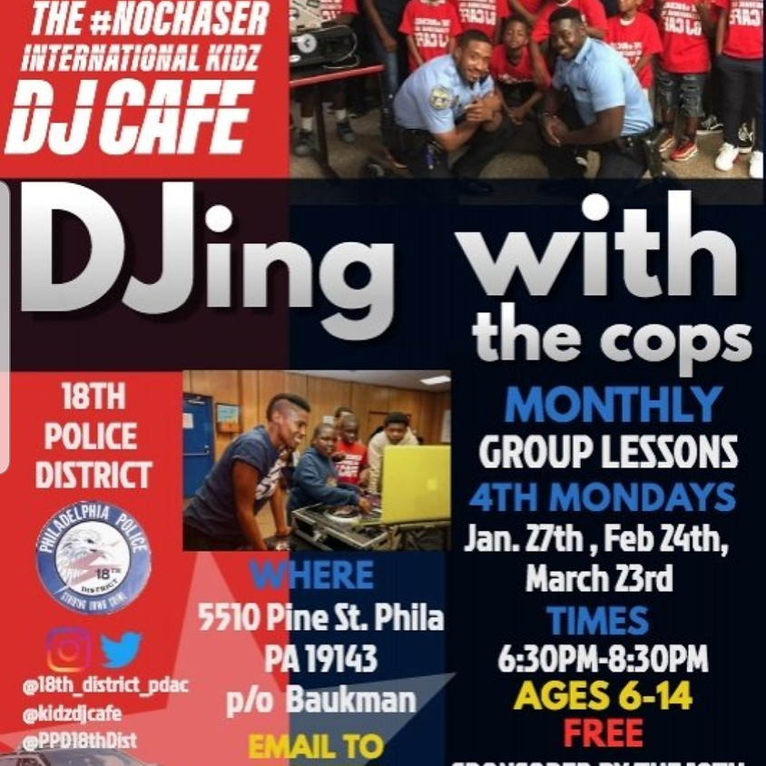 DJing with the Cops