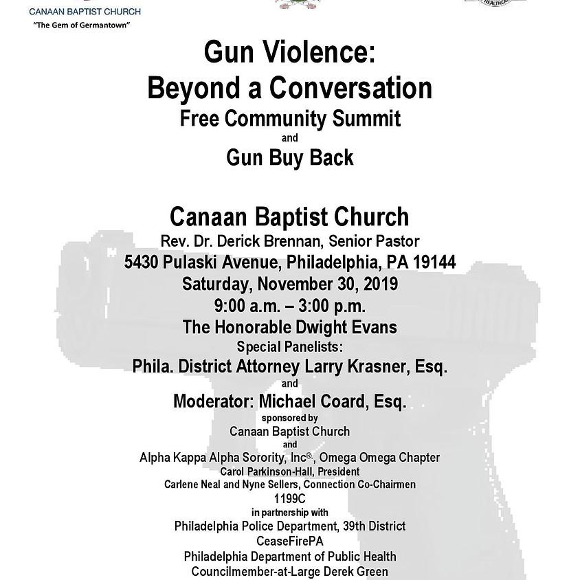 Gun Violence: Beyond a Conversation