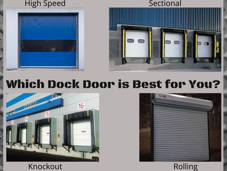 Dock Doors: Did You Know There Were Different Types?