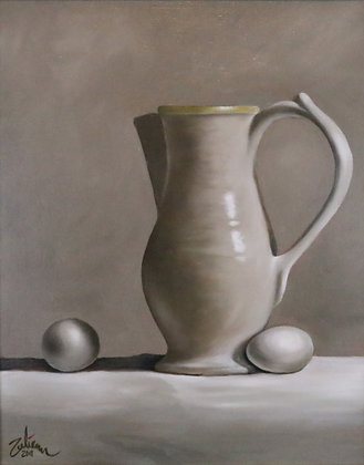 Vase with Eggs #1